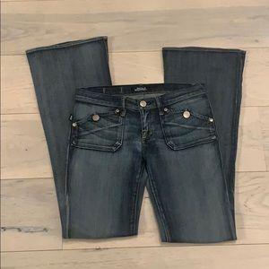 NWOT Rock & Republic Jeans Sz.28 Scorpion Wide Leg
